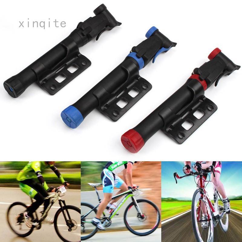 Mini Compact Design Bicycle Pump Bike Air Stick Presta Schrader Tire Inflator