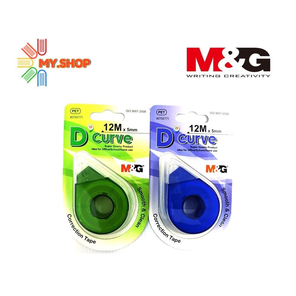 M&G D'CURVE Correction Tape 12M x 5MM ACT55771