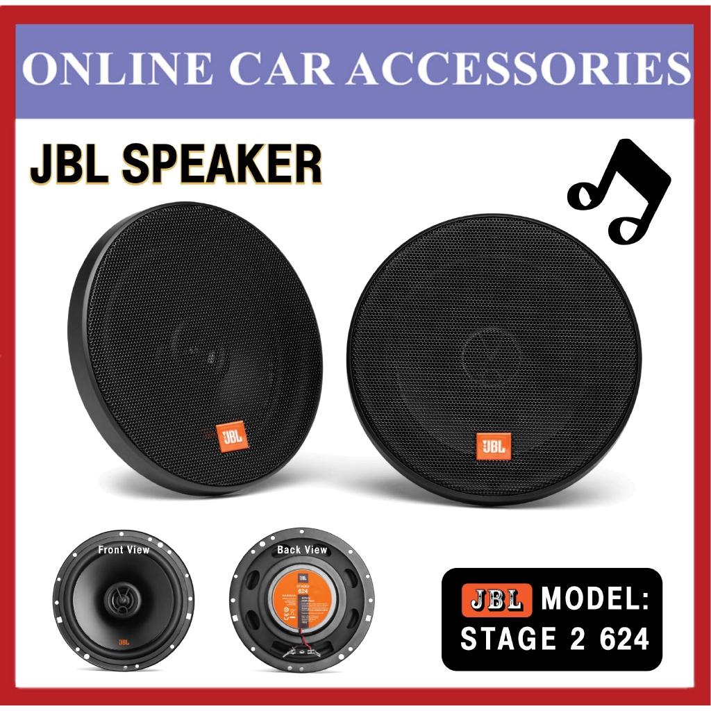 "JBL Stage2-624 6-1/2"""" (160mm) 2-Way Car Speaker Peak Power : 240W • RMS Power : 40W"