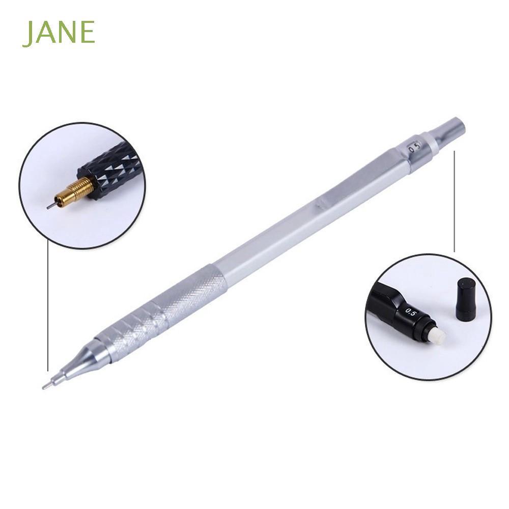 2 x Pilot Super Grip Clutch Point Mechanical Pencil 0.5mm Lead with 24Pcs Lead