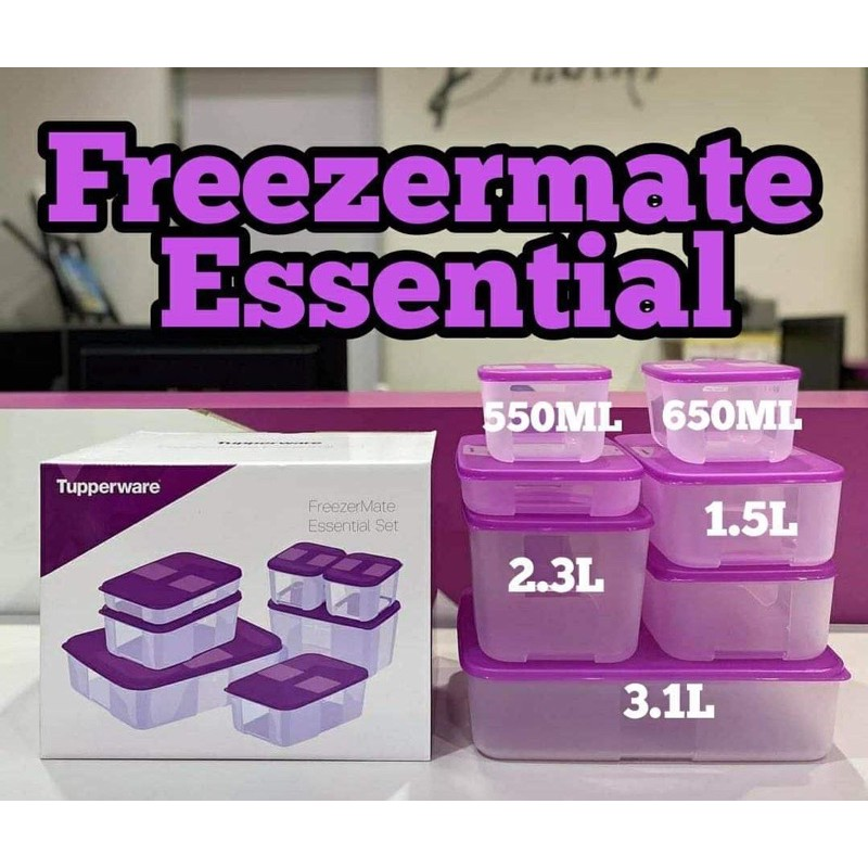 Tupperware FM Freezermate Set