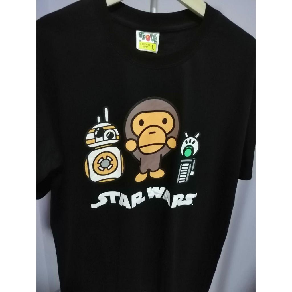 BAPE MILO X Star war 8108B PREMIUM T-Shirt by A Bathing Ape