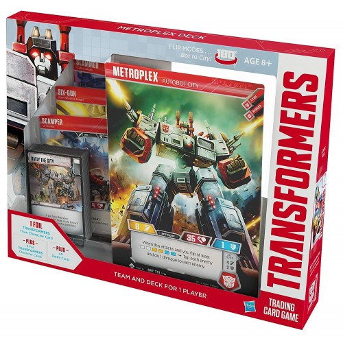 Transformers TCG Metroplex Deck Trading Cards