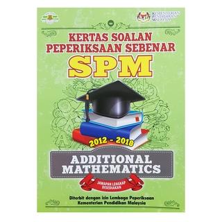Buku Latihan Kertas Soalan Peperiksaan Sebenar Spm Mathematics 2019 Pass Year Shopee Malaysia