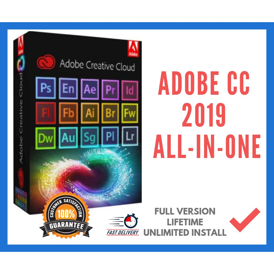 💯OFFER❗❗❗ 🔊Adobe CC 2019 Full master Version {ALL IN ONE} [Latest |  Lifetime]