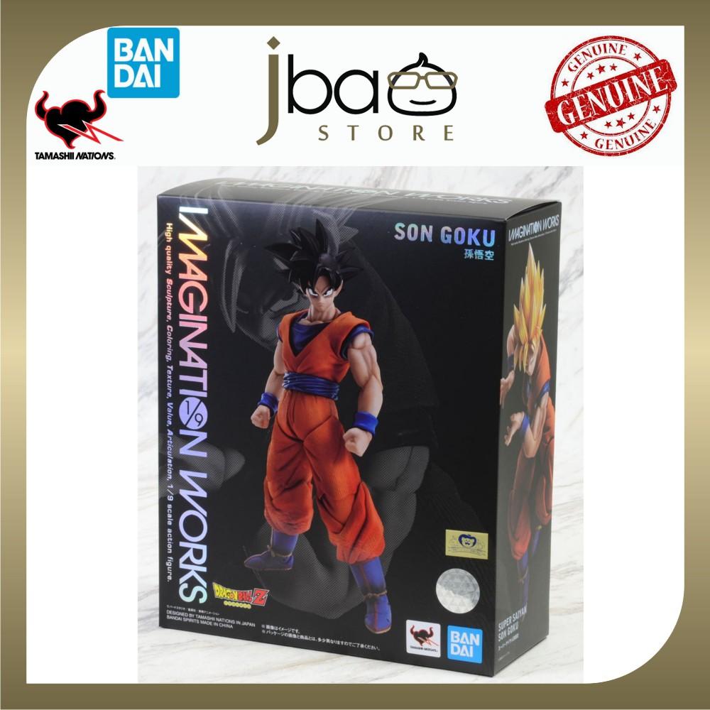 Bandai 1/9 Tamashii Nations Imagination Works Son Goku Movable Articulation Dragon Ball Z