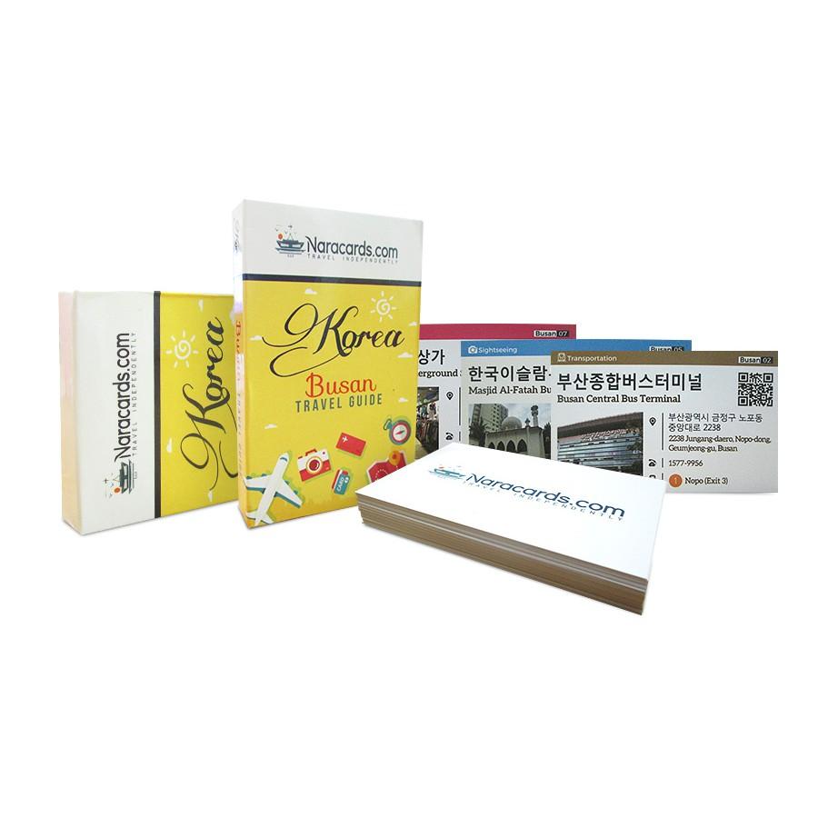 Naracards Korea Travel Information Guide & Assistance Cards