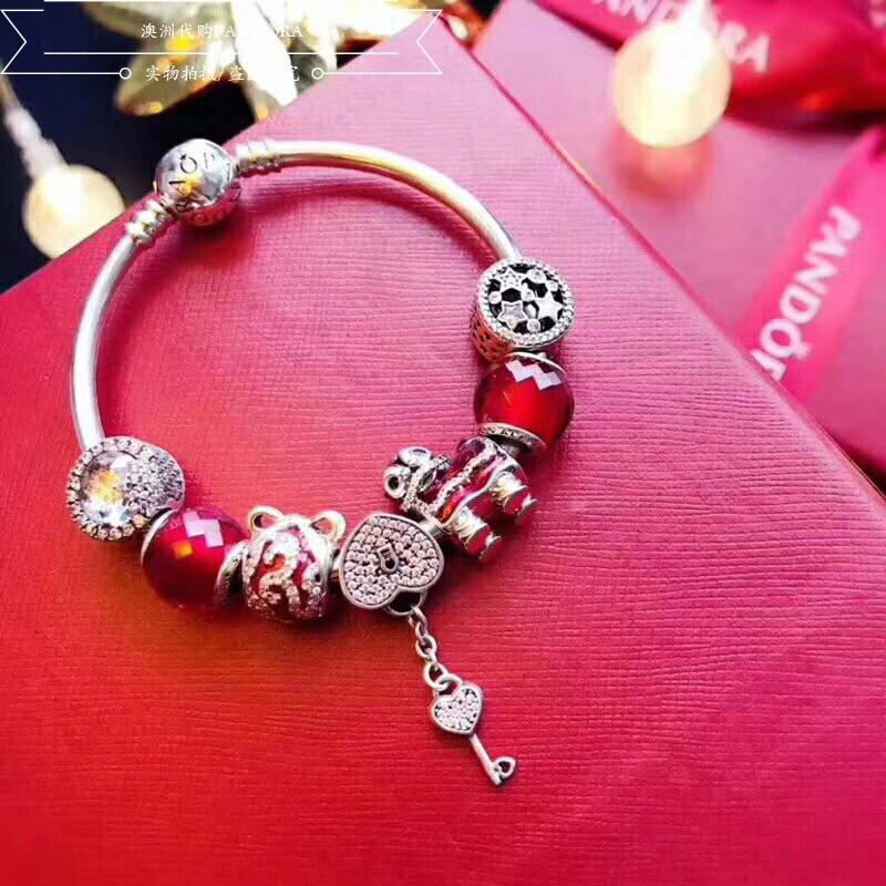 348c765b867c6 Pandora bracelet female original official flagship magnolia series ...