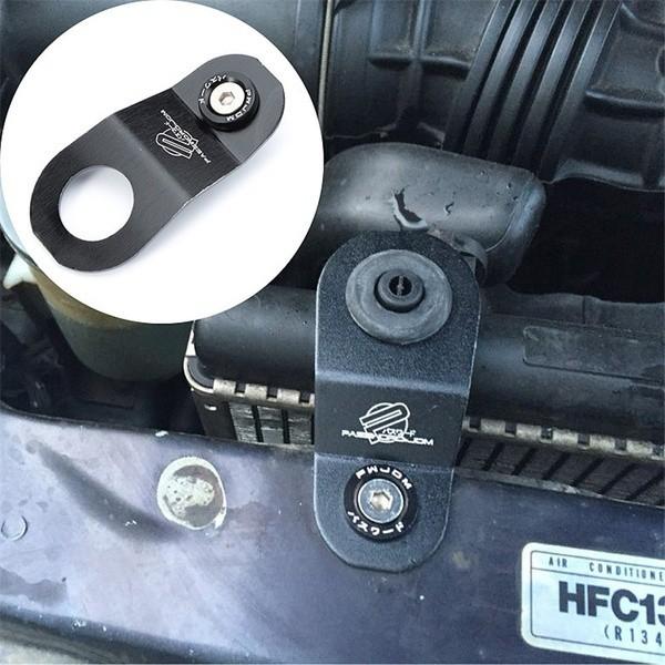 EG/_ CAR WATER TANK RADIATOR STAY BRACKET MOUNTING KIT FOR HONDA CIVIC 1996-2000