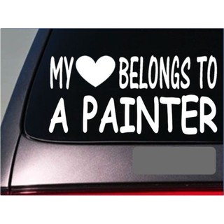 Painter My heart belongs Sticker 8