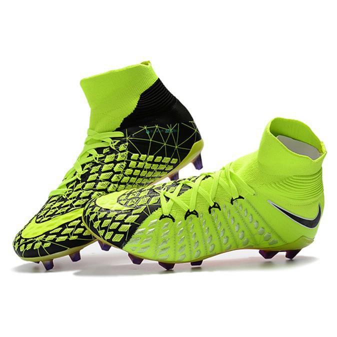 best price quite nice first rate Nike Hypervenom Phantom III EA Sports FG 3D knitting men's soccer football  shoes