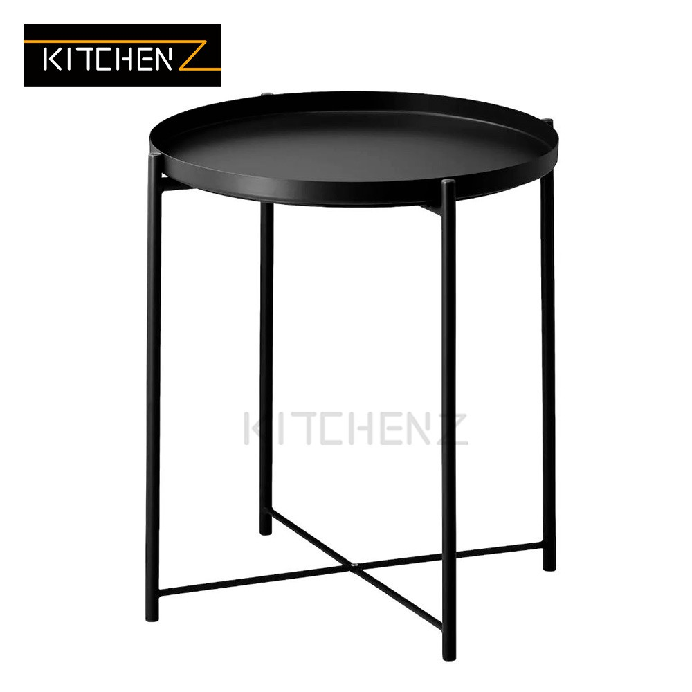 Kitchenz Tray Table Removable Tray Top / Side Table / Coffee Table - 45.5cm x 52.5cm