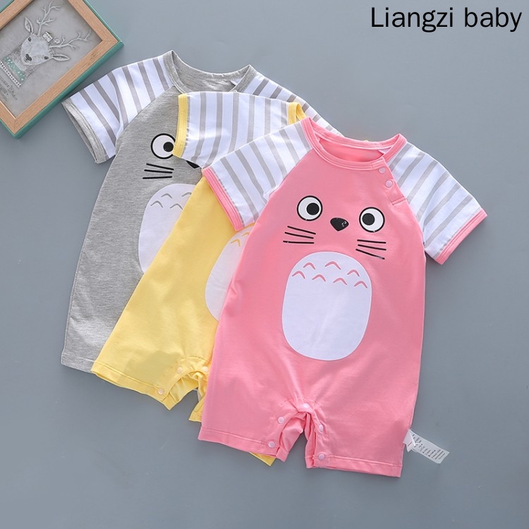 e6491f5f33a91 ProductImage. ProductImage. New Born Baby Jumpsuit Climbing Suit Clothes  Baby Clothingset Cartoon Baby