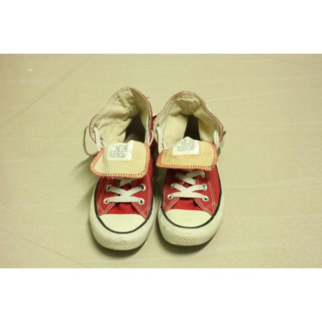 รองเท้า converse หุ้มข้อสีแดง เบอร์ 36 ❌ขอ