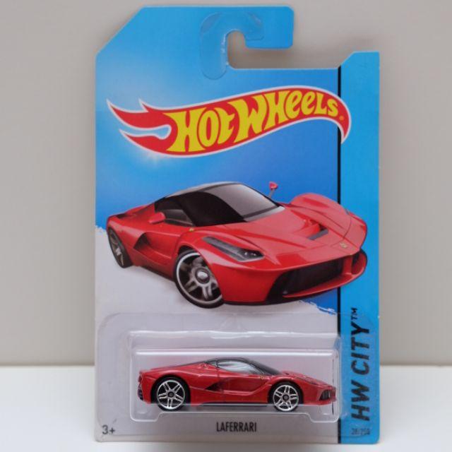 Hot Wheels Ferrari Laferrari Red Hw City Shopee Malaysia