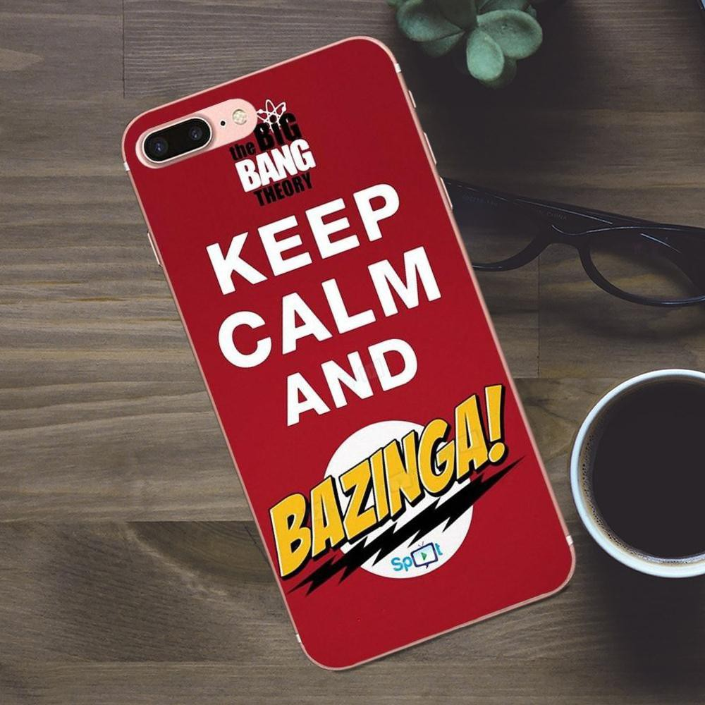 9bd0bd9532 ProductImage. ProductImage. The Big Bang Theory Bazinga Cases Skin Phone  case iPhone X 8 7 6S Plus 5S