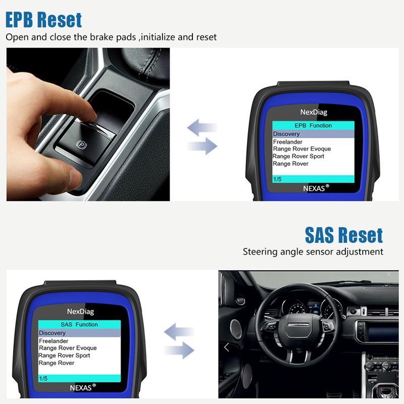 NEXAS ND602 OBD2 diagnostic instrument Car Tools | Shopee
