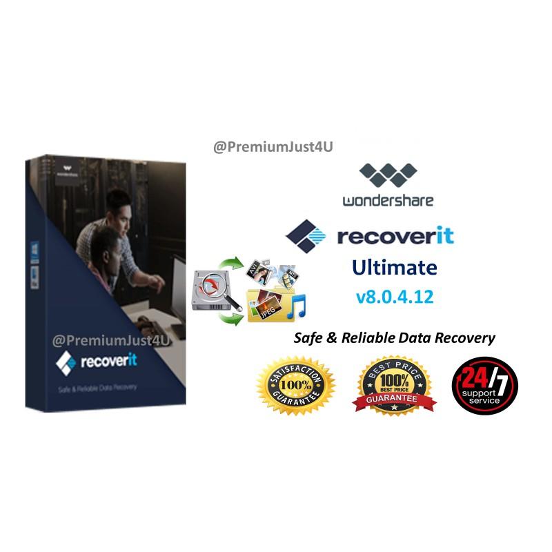 (Windows) Wondershare Recoverit Ultimate v8 2 0 17 [2019 Full Version]