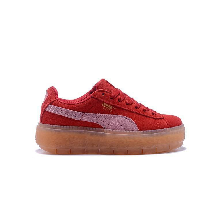 sneakers for cheap 1249a 80429 PUMA rihanna Suede Platform women's casual sneakers35.5-39 52