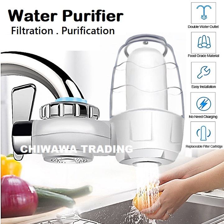 5 Way Filtration Water Tap Faucet Purifier Filter Clean Activated Carbon Ceramic Cartridge for Home Kitchen Bathroom
