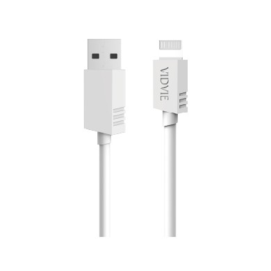 VIDVIE CB404 DATA CHARGING CABLE 100CM 2.1A FAST CHARGE DATA SYNC CABLE FOR APPLE IOS LIGHTNING ANDROID MICRO USB TYPE C