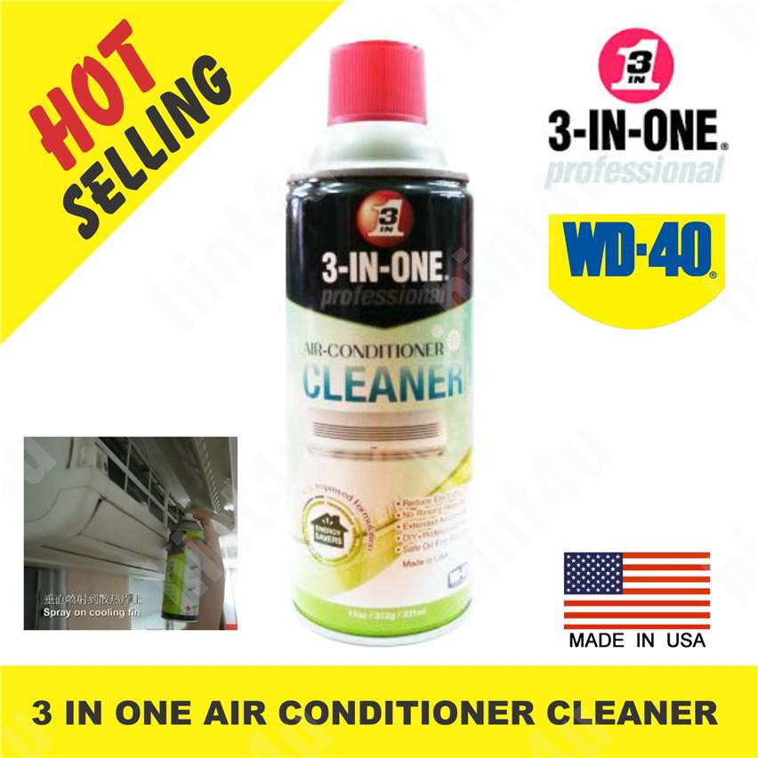 (x2 unit) WD 40 3 IN ONE AIR CONDITIONER CLEANER