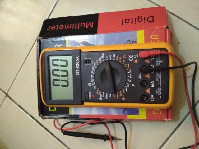 ALX Digital Multimeter LCD Ammeter Resistance Capacitance