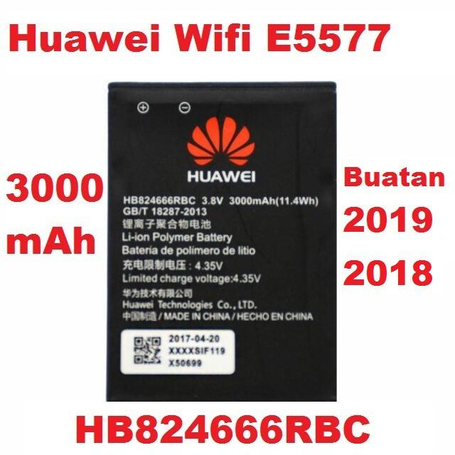 Ori Kualiti Huawei Wifi E5573 E5577 E5577S Pocket Mifi HB434666RB  HB824666RBC Mobile Modem Router Battery Bateri