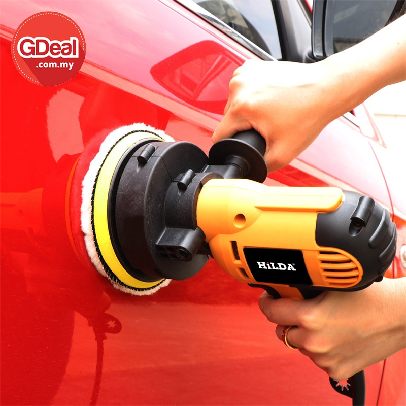 GDeal 200W Car Beauty Polishing Machine Adjustable Speed Sanding Waxing Tools Car Accessories Polisher Power Tools