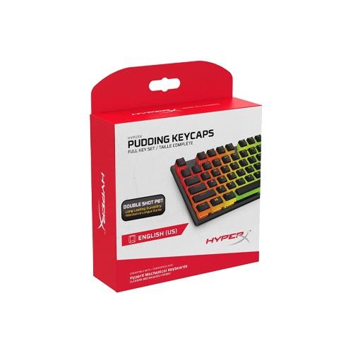 {HKCPXP-BK-US/G/HKCPXP-WT-US/G} HyperX Pudding PBT Keycaps (Black/White)