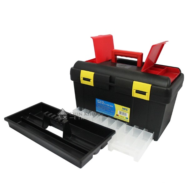 Nietz 505-23-180 Multipurpose Power Tool Storage Box Organizer Retractable Drawers