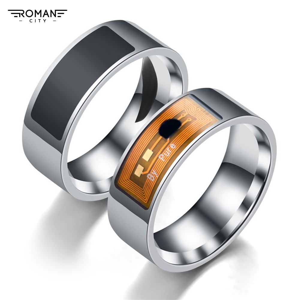 Smart Magic Stainless Steel Wearable Fashion Finger Ring for Mobile Phone