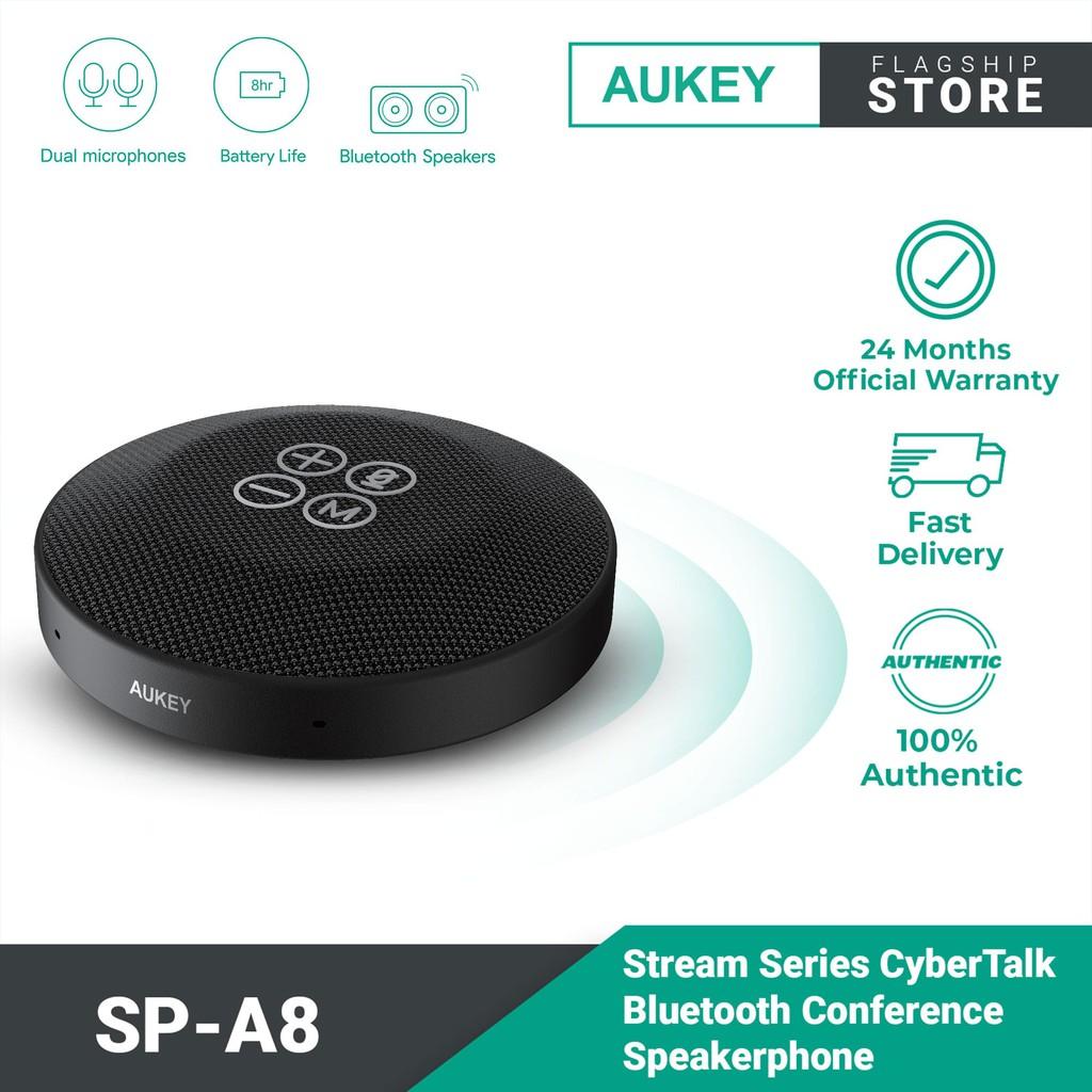 Aukey SP-A8 Stream CyberTalk Bluetooth Conference Speakerphone