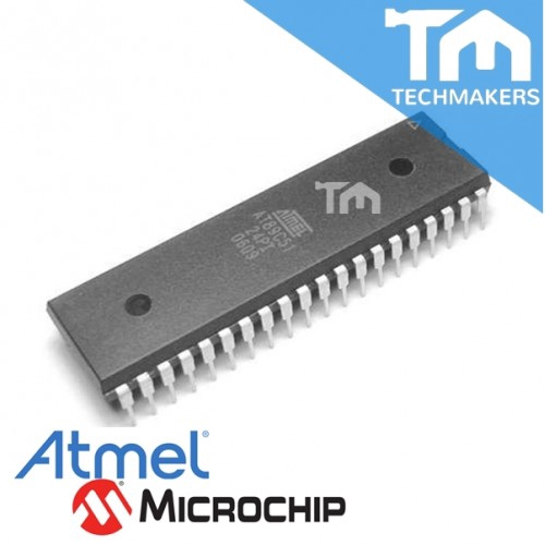 10PCS IC AT89C51-24PI AT89C51 DIP-40 ATMEL NEW