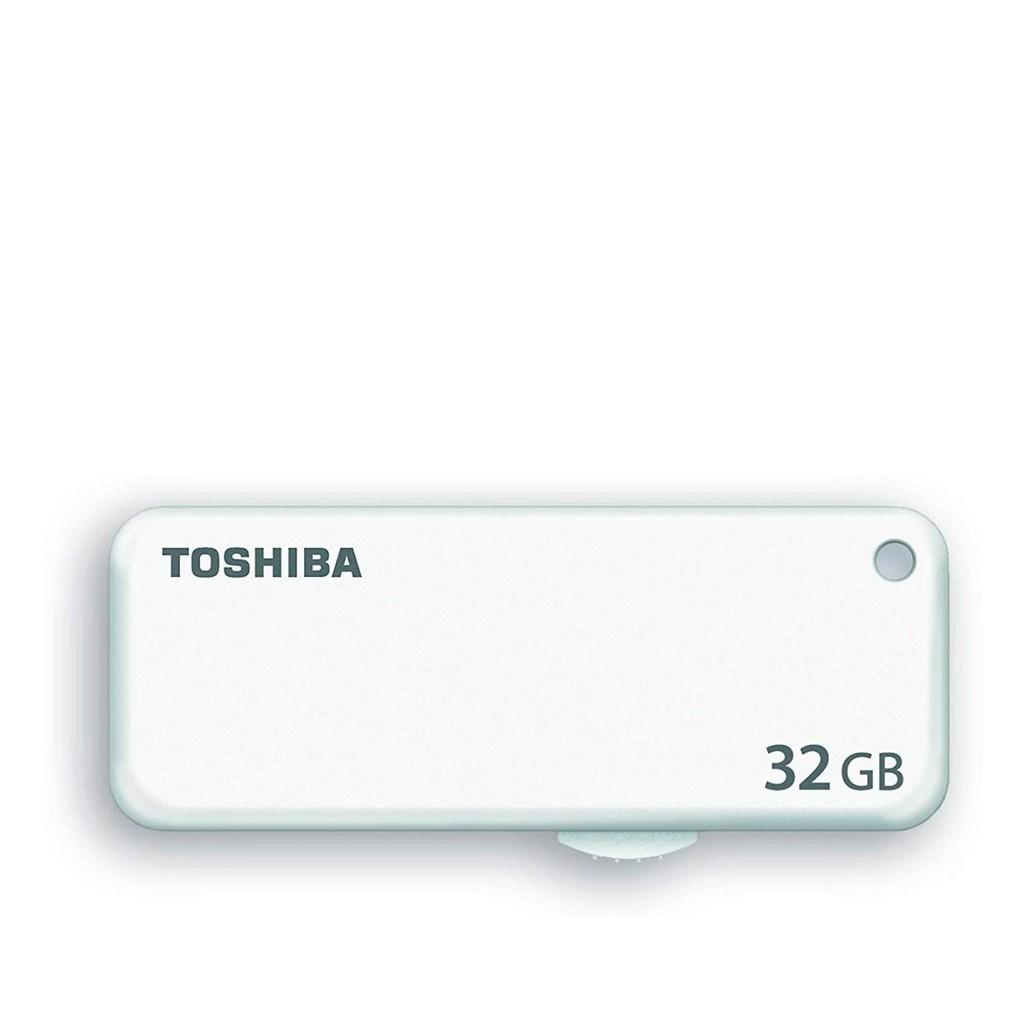 Toshiba U203 Yambiko 32GB USB 2.0 Flash Memory Drive White Color THN U203W0320