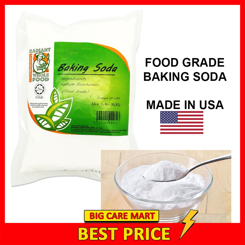 Radiant Baking Soda Sodium Bicarbonate 500g (Food Grade)