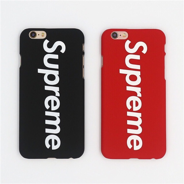 Supreme Iphone 6s Case Apple 7Plus Frosted Shell Protective Case