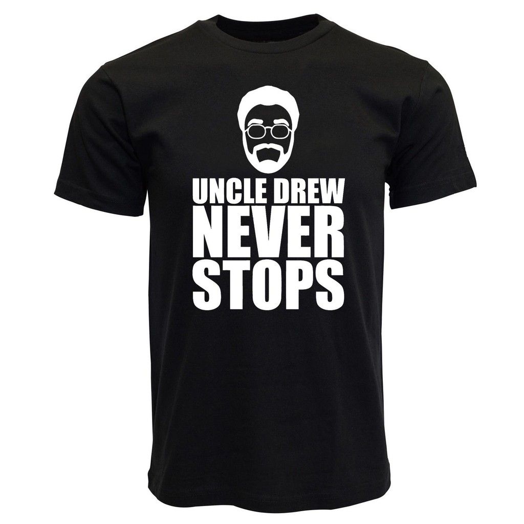 huge discount 95128 366a3 Uncle Drew Never Stops Basketball Jersey Mens T Shirt Graphic Tee,Kyrie  Irving Boston Celtics Basketball