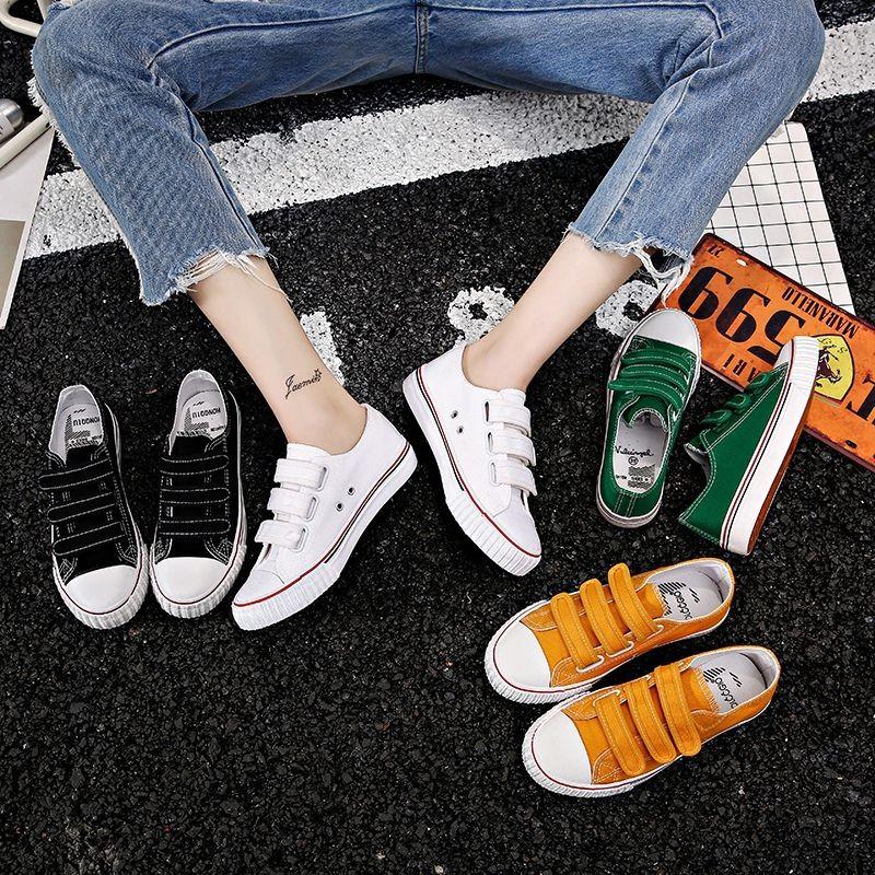 Black blue white unicorn cloud rainbow Womens Flat Sports Leisure Fashion Canvas Sneakers Casual