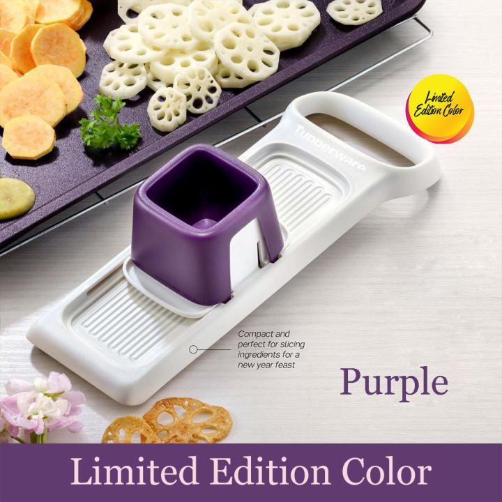 Tupperware Speedy Mando Purple Limited Edition (1) FREE Snowflake Square Round 400ml