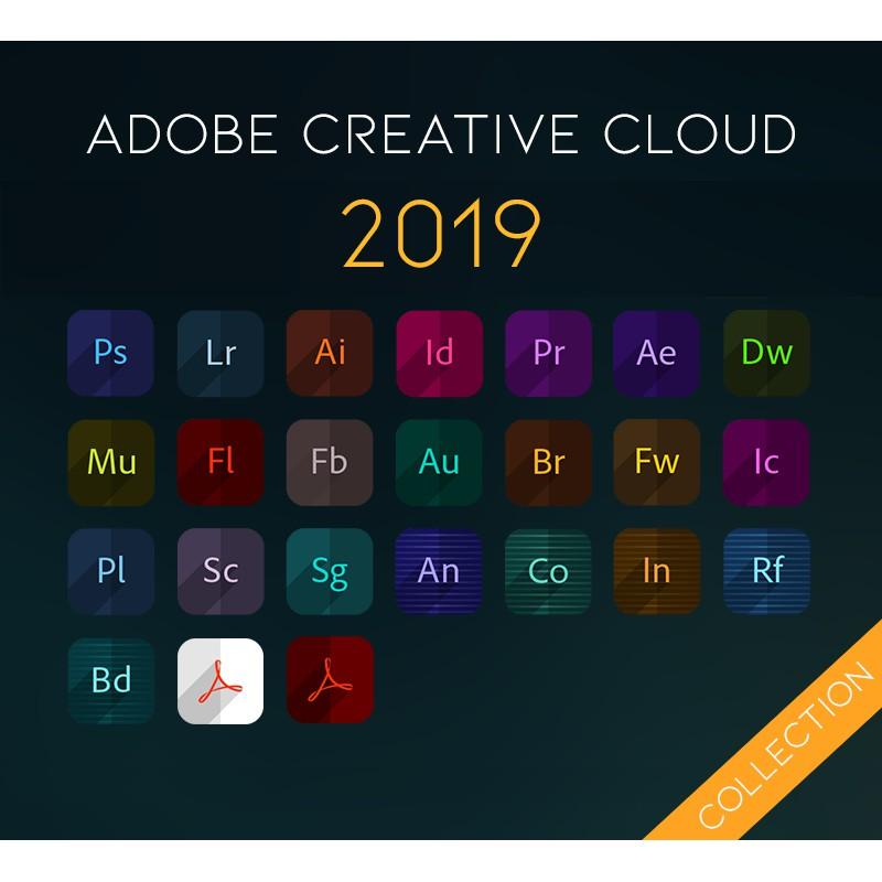Adobe CC 2019 Full Set LIFETIME [Window 64Bit/ 32Bit]
