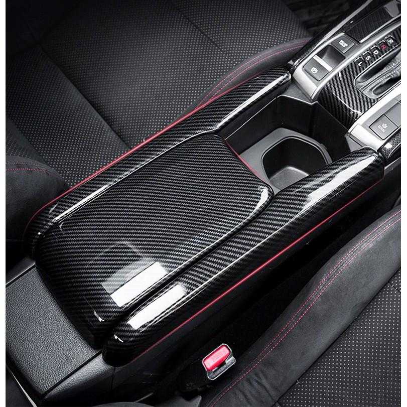 Honda civic carbon arm rest cover