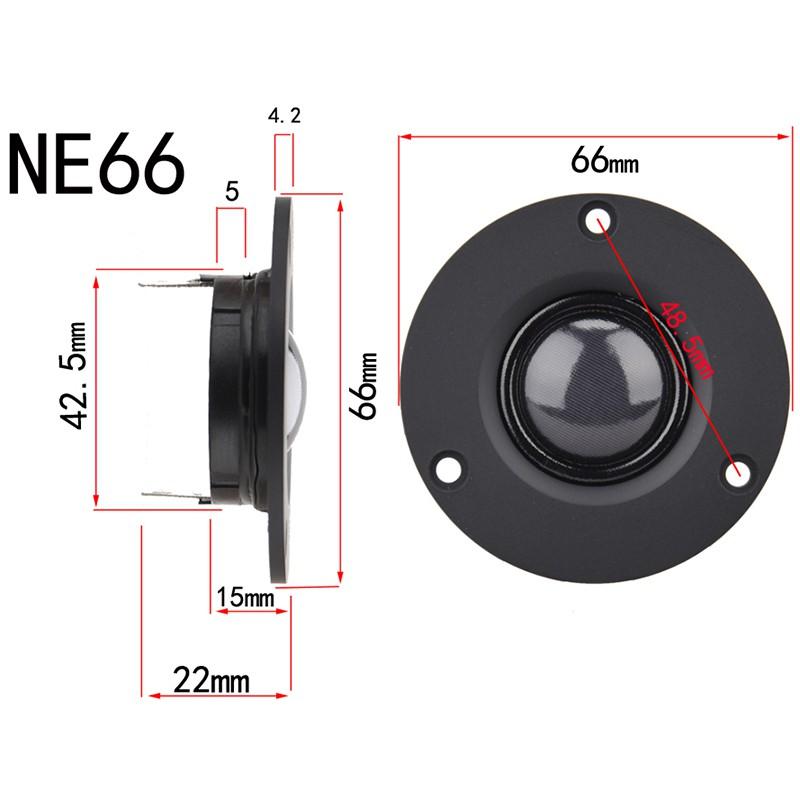 """1pcs for vifa 2/""""inch 66mm Titanium film tweeter 4ohm 4Ω 100W Speaker Loudspeaker"""