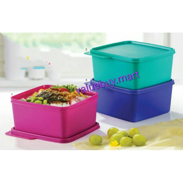 Tupperware snack n stack assorted color (1pc)