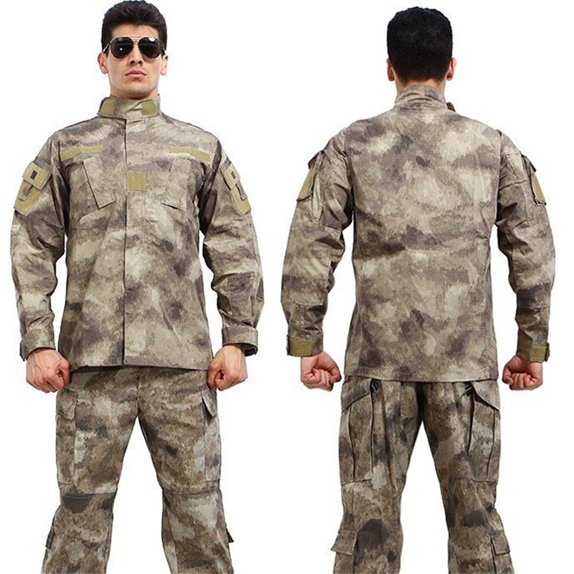 8e512888deb21 Tactical Uniform Camouflage Suit Wargame Paintball Army Clothing ...