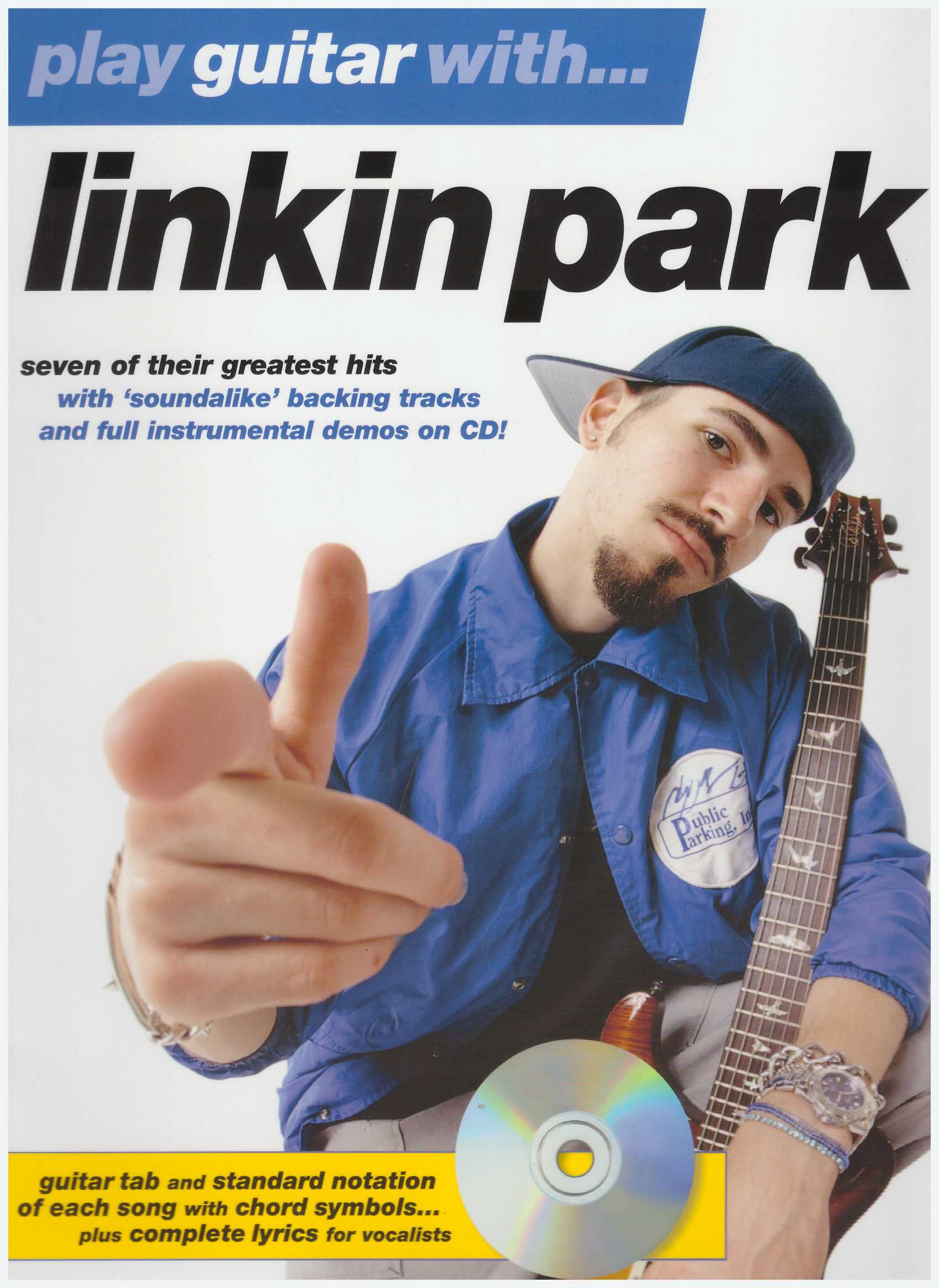 Play Guitar With... Linkin Park / Vocal Book / Voice Book / Guitar Book / Gitar Book / Tab Book / Guitar Tab Book