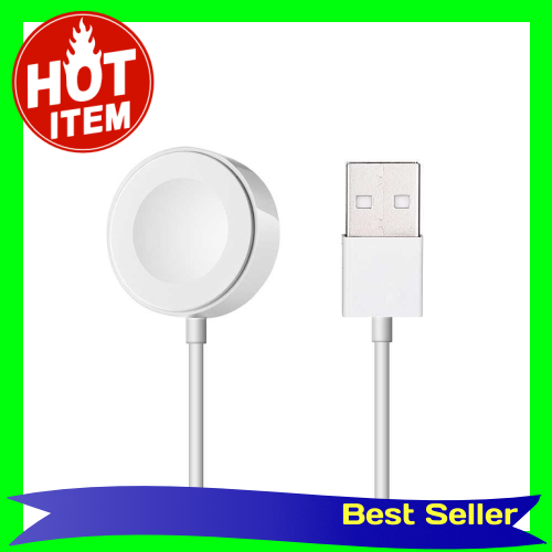 Fine Quality Charger Wireless Charging Cable For Apple Watch for apple watch Series for i Watch 38 42mm (White)