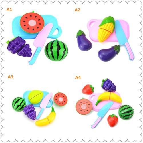 Baby Cute Plastic Vegetables Toy Infant Educational Toys