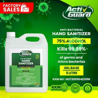 HAND SANITIZER 5L [ 75% ALCOHOL ] - GEL