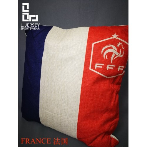 France Pillow World Cup 2018 National Graphic